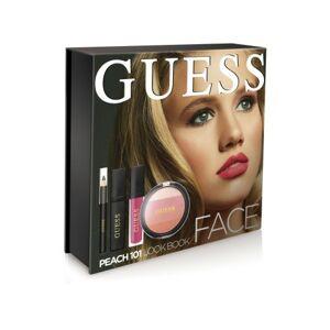 Guess Face Look Book Kit paletka na tvář  101 Peach - broskvová