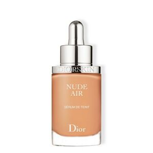 Dior Diorskin Nude Air Serum vysoce tekutý make-up pro nahý, přirozeně zdravý a prozářený vzhled  040 Honey Beige