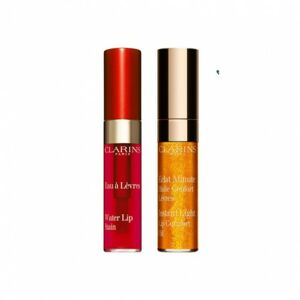 Clarins Duo Water Lip stain & Lip oil 03 & 07 voda a olej na rty  03 & 07