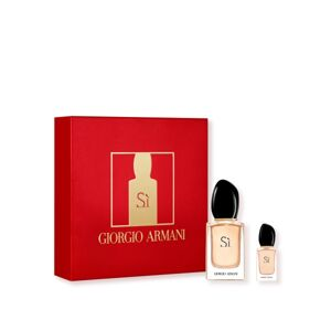 Giorgio Armani Sì dárková sada (parfémová voda 30 ml + miniatura vůně 7 ml)