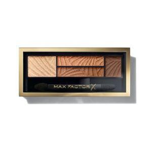 Max Factor Smokey Eye Drama  oční stíny a pudr na obočí 2v1  03 Sumptuos Gold