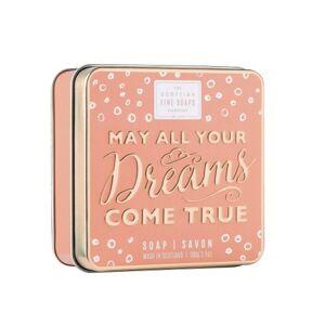 Scottish Fine Soaps May All Your Dreams Come True mýdlo v plechu 100g