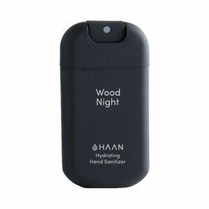 HAAN Wood night  čisticí spray na ruce s antibakteriálním účinkem  černá