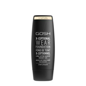 GOSH COPENHAGEN X-ceptional Wear Make-up tekutý make-up  12 Natural