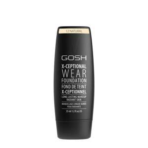 GOSH COPENHAGEN X-ceptional Wear Make-up tekutý make-up  12 Natural