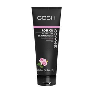 GOSH COPENHAGEN Rose Oil Shampoo jemný vlasový šampon 230 ml