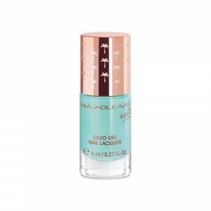 Naj-Oleari Oleo gel Nail Lacquer ak na nehty s gelovým efektem  32 acquamarine