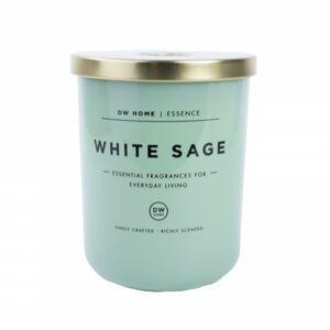 DW Home White Sage  vonná svíčka ve skle - bílá šalvěj - velká 449,77g